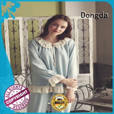 Dongda plain pj sets factory for women
