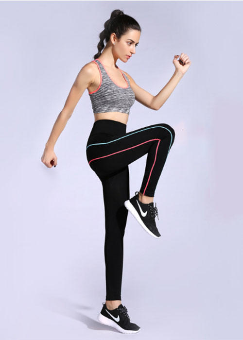 Black Quick-drying High-elastic Women's Gym Leggings