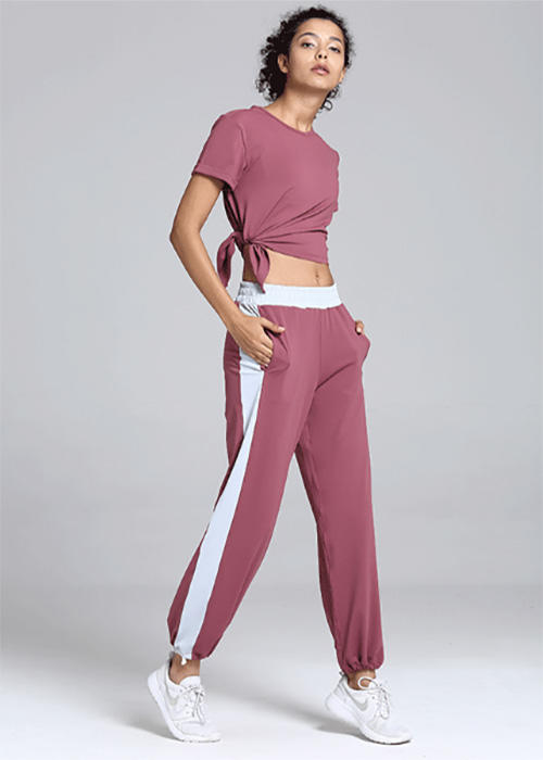 Casual Gym Yoga Pants Sports Suit Set
