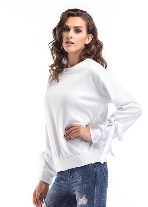 New Design Long-sleeved Plaited Oversized Hoodies