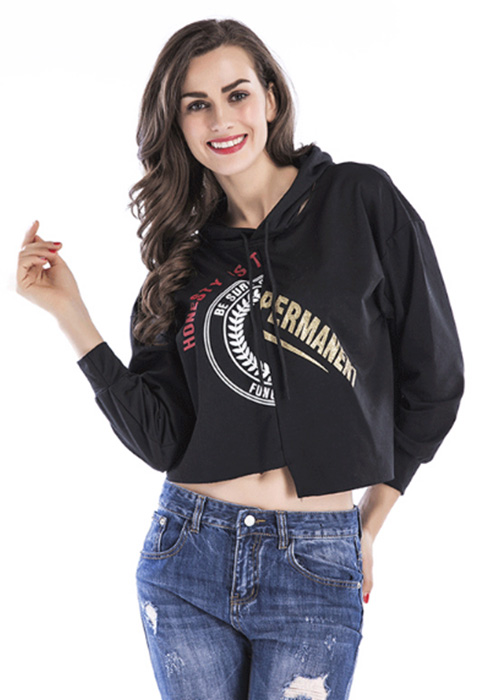 Dongda long sleeved ladies hoodies for sale for international market-2