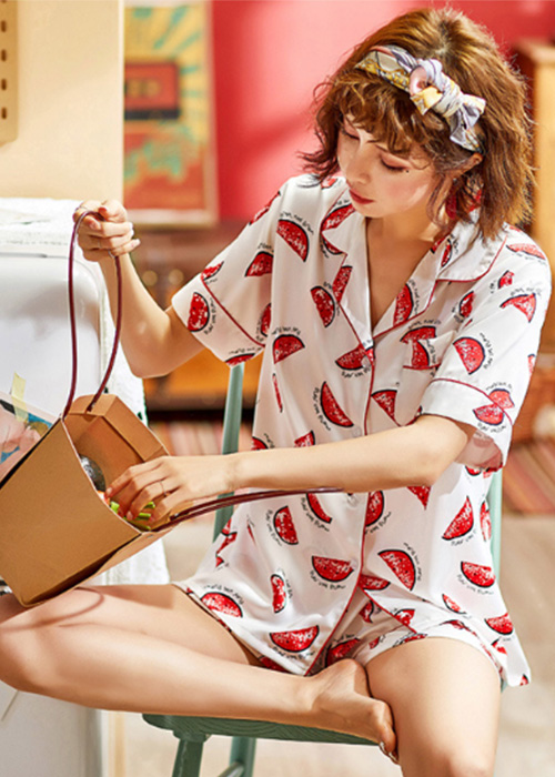 Dongda sweet female pajamas for business for ladies-1