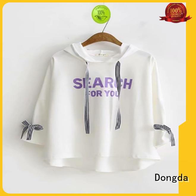 Dongda Custom womens sweatshirts for sale for international market