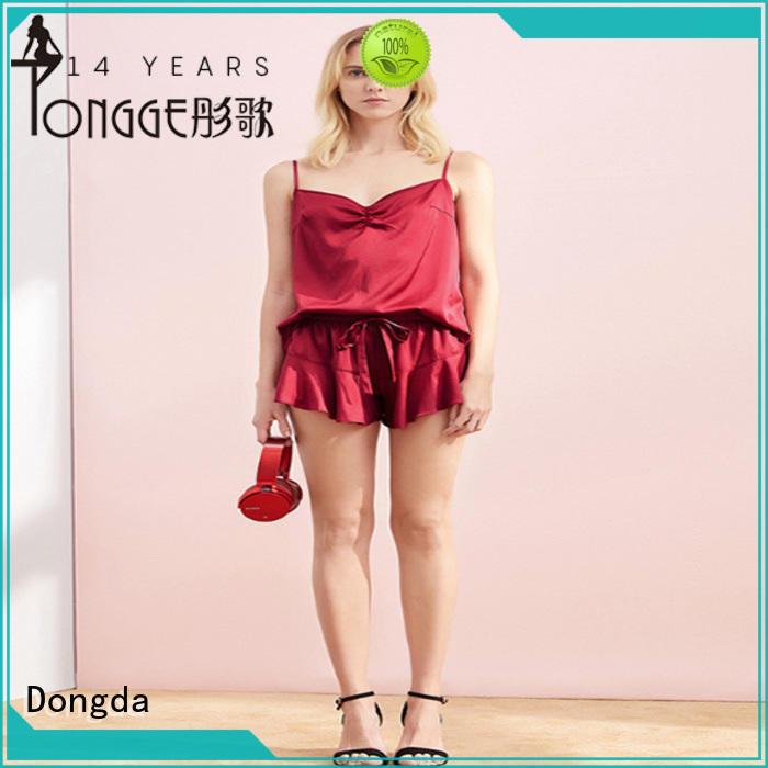 Dongda strap pajama dress supply for sale