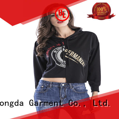 Dongda Best ladies sweatshirts company for international market