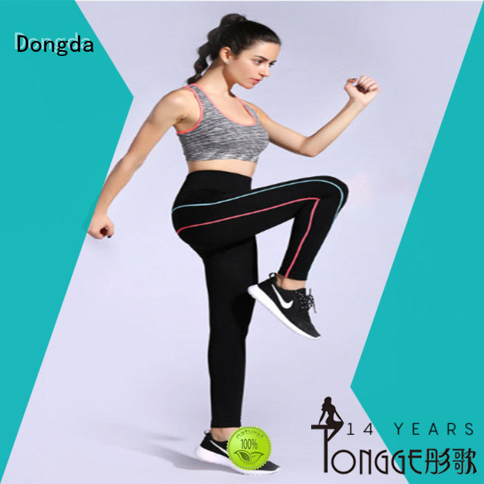 Wholesale womens fitness leggings woven factory for summer