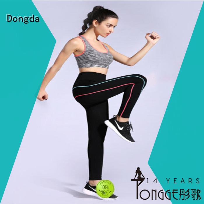 Wholesale womens fitness leggings woven factory for summer