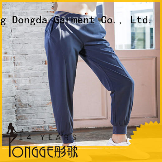 cheap customized yoga pants womens for sweating Dongda
