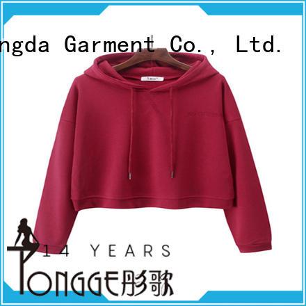 design ladies hoodies order now for ladies Dongda