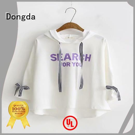 Dongda short graphic sweatshirts manufacturers for women