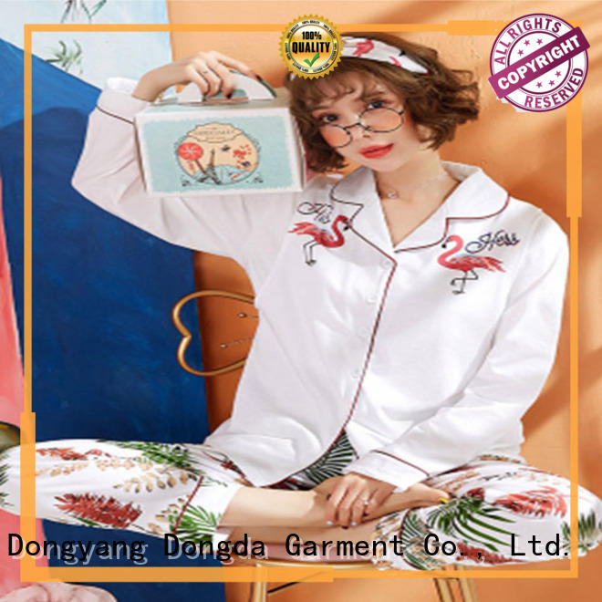 Dongda Latest sleepwear sets suppliers for ladies
