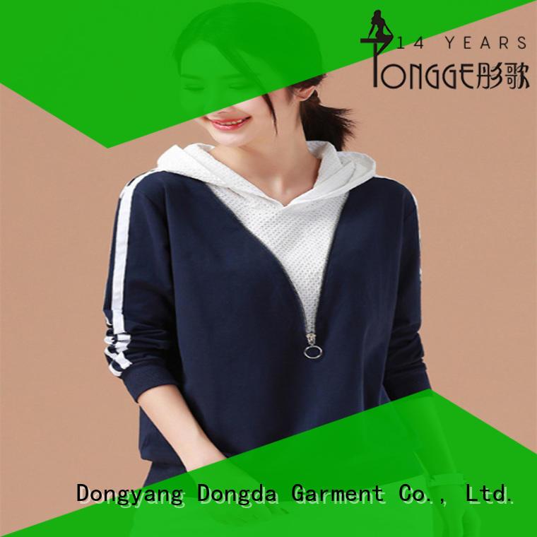 ladies sweatshirts customized for international market Dongda