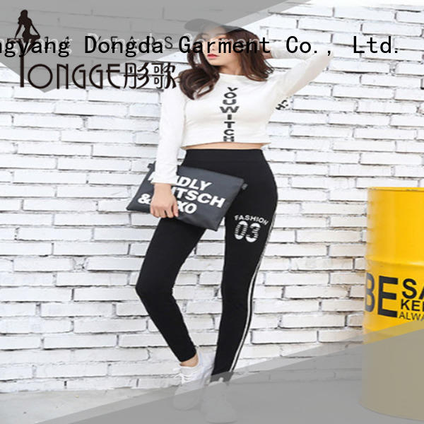 Dongda buy exercise leggings from China for summer