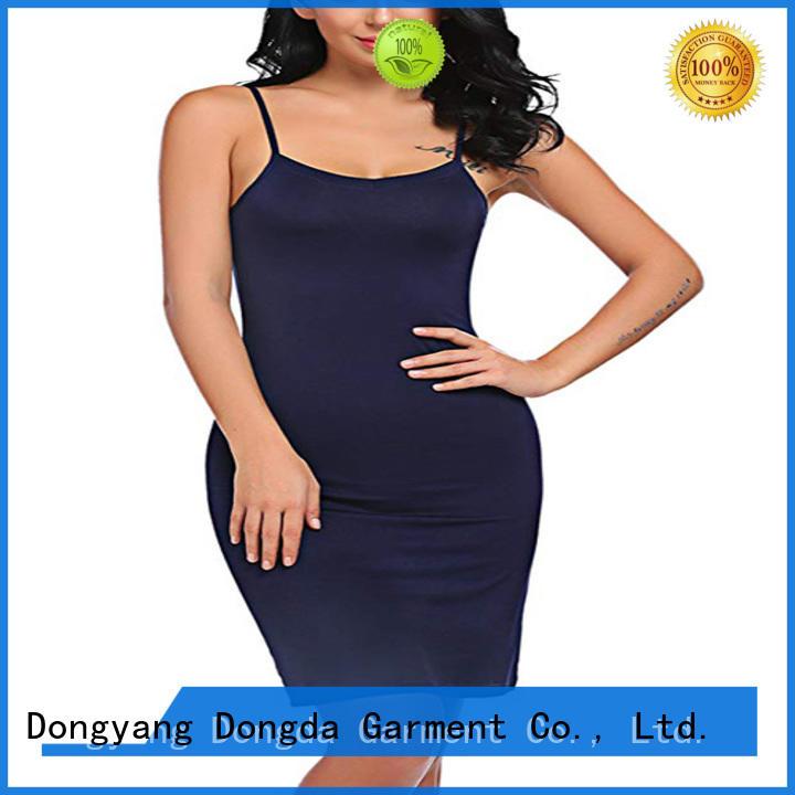Dongda satin pajama dress supply for ladies