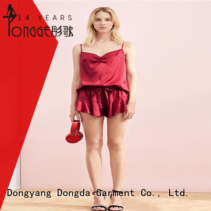 Dongda fashion ladies sleepwear supplier for sale