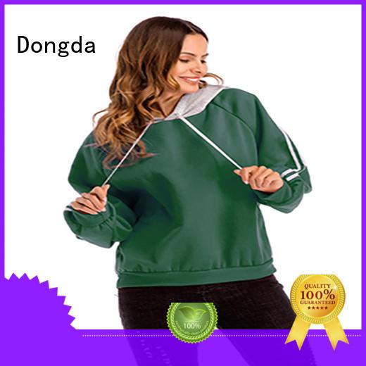 Custom ladies sweatshirts single color for business for ladies