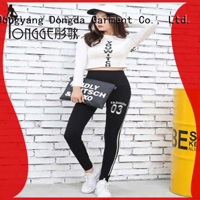 Oversized Modal Prints For Ladies Exercise Leggings