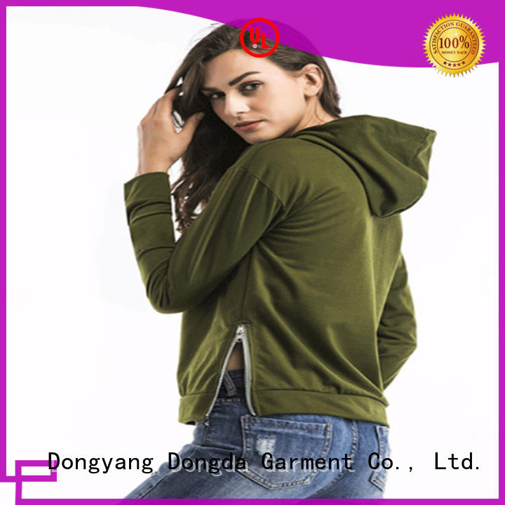 Dongda female hoodies factory for women