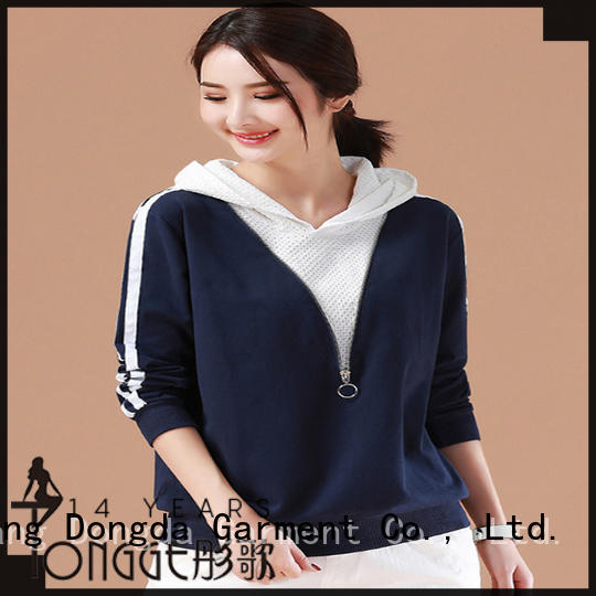 female hoodies oversize for international market Dongda