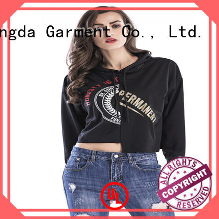 female hoodies single color for business for women