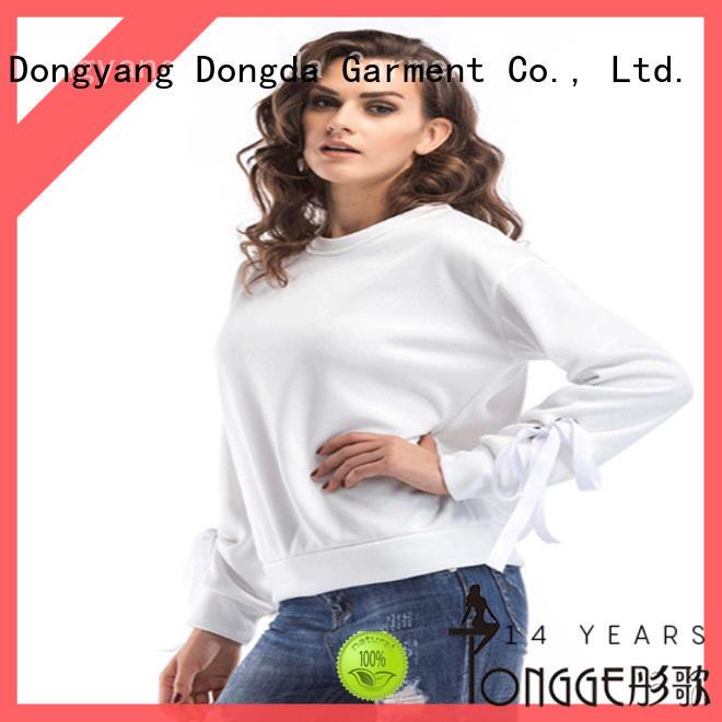 Dongda Custom ladies sweatshirts company for international market