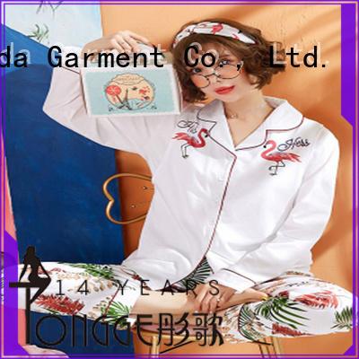 Dongda FOB price womans pyjamas silk for sale