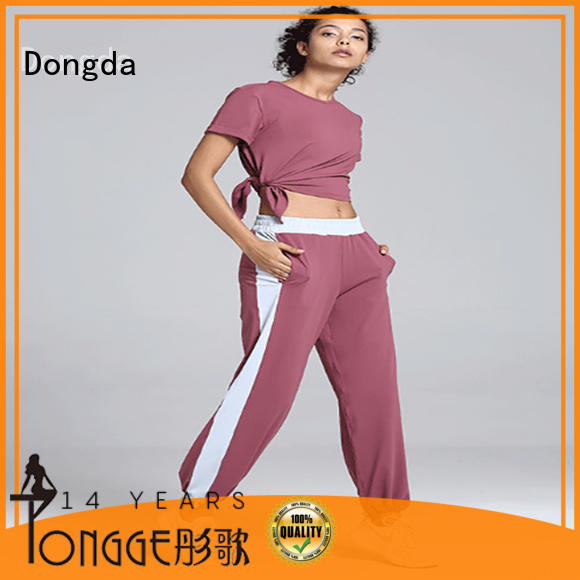 Dongda New womens fitness pants factory for summer