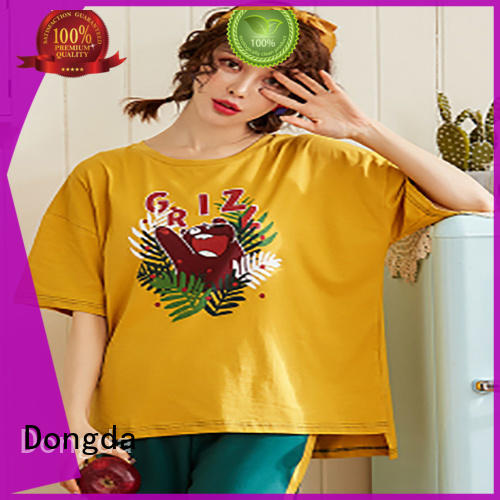 Dongda flamingo sleepwear sets company for sale