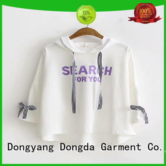 Dongda personality female hoodies manufacturers for women