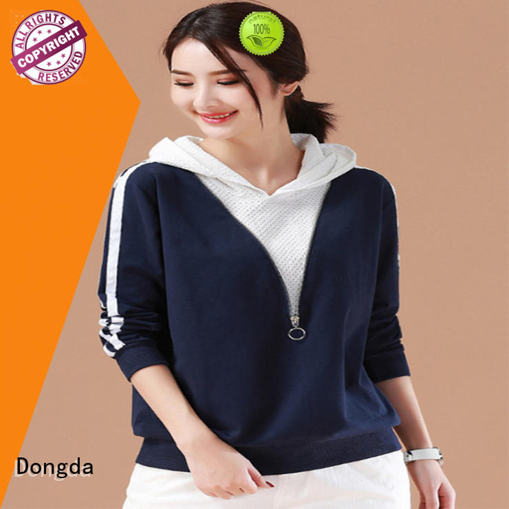 Dongda long sleeved ladies sweatshirts company for ladies
