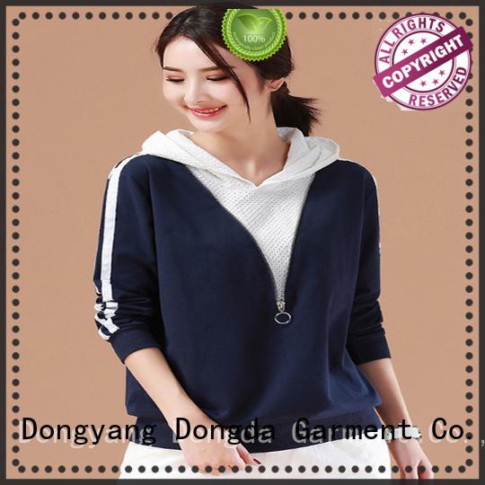 Dongda Top ladies hoodies manufacturers for women