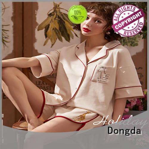 Dongda fashion women's sleepwear sets suppliers for women