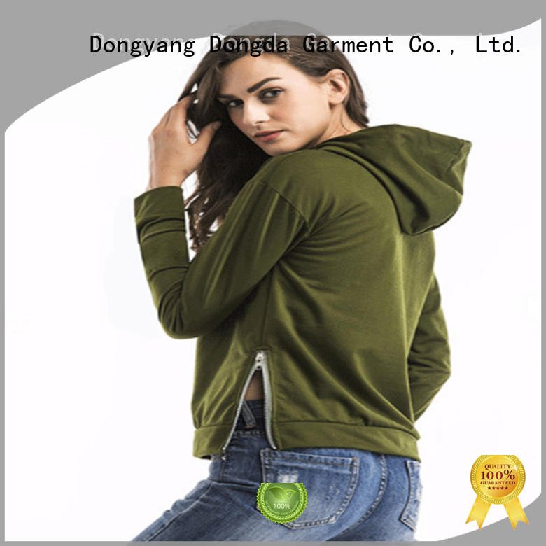Dongda short female hoodies suppliers for women