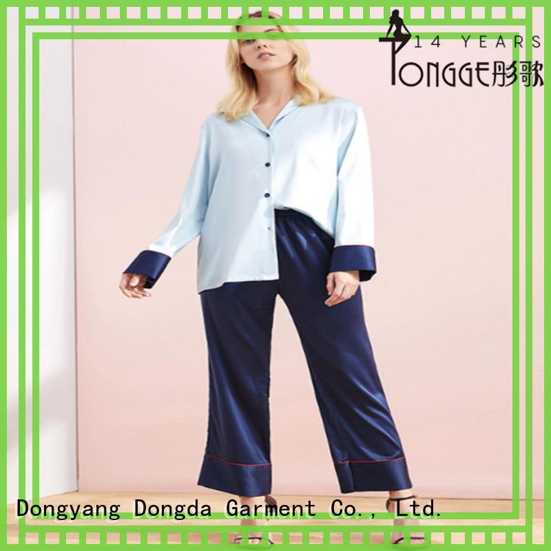 silk pajamas for women bamboo for sale Dongda