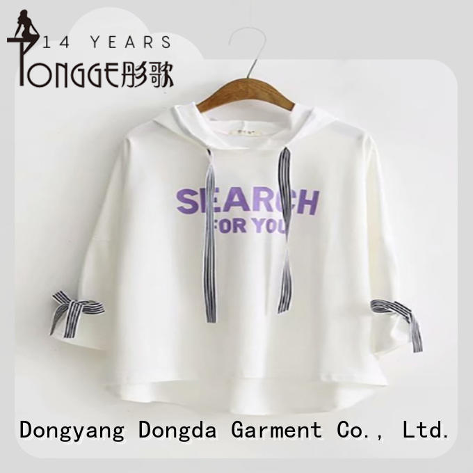 spring womens sweatshirts wholesale for international market Dongda