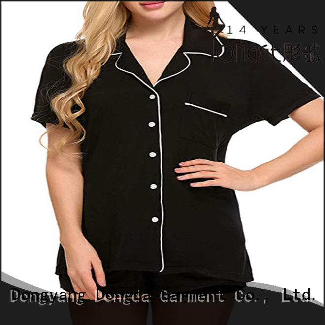 factory price home clothes sleepwear manufacturer for ladies
