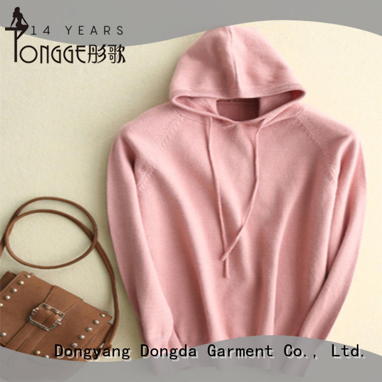 Dongda skin-friendly womens sweatshirts from China for women