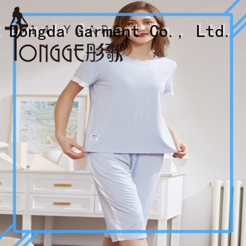 Pure Cotton Sweet And Lovely Long-sleeve Loose Pajama Set