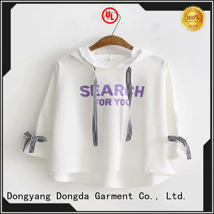 Dongda sweatshirt ladies hoodies suppliers for ladies