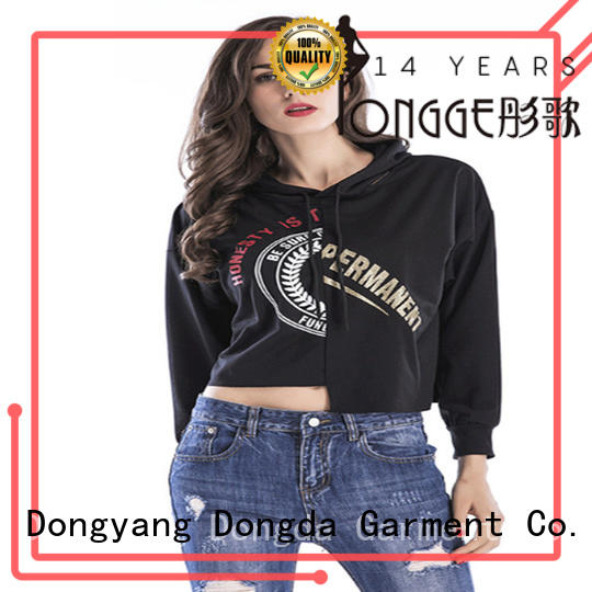 Dongda High-quality graphic sweatshirts factory for women
