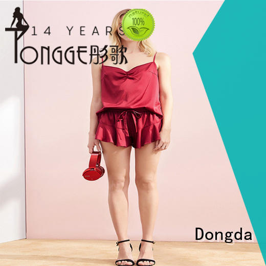 Dongda retro sleepwear sets for business for ladies