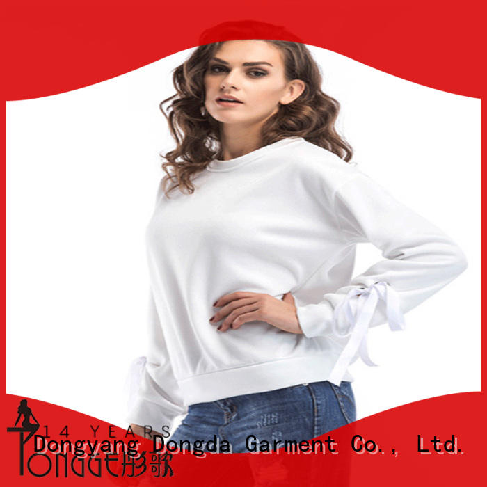 mixed female hoodies customized for women Dongda
