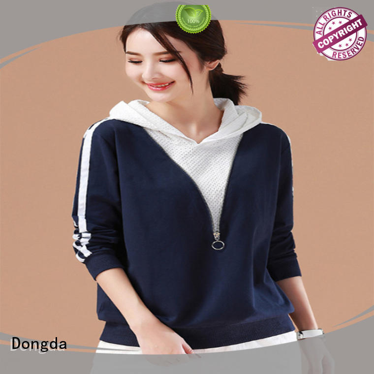 Dongda Latest ladies hoodies for business for international market