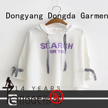 Dongda Best female hoodies company for ladies