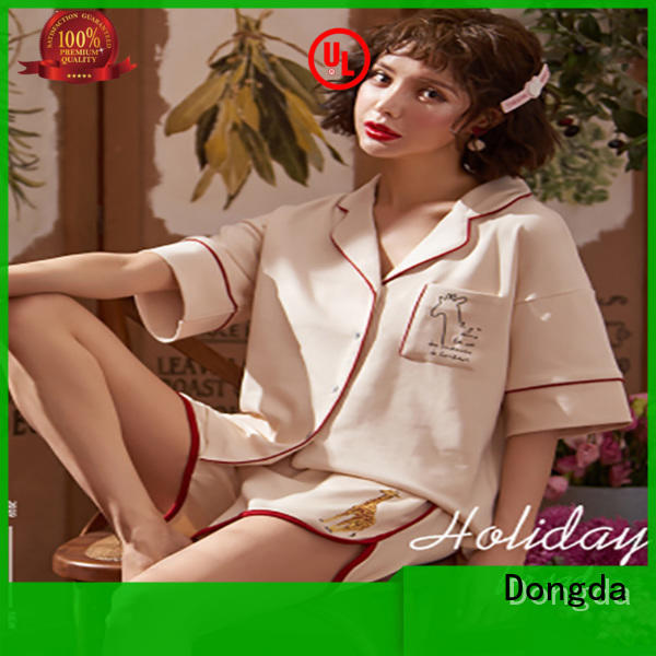 Dongda High-quality ladies pyjama sets for business for women