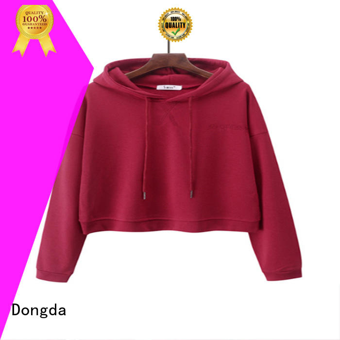 Dongda Latest female hoodies for sale for ladies