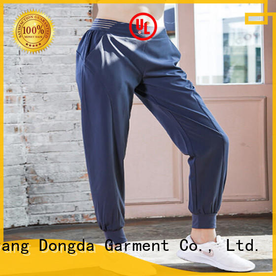 Dongda high elastic womens exercise leggings manufacturers for sweating