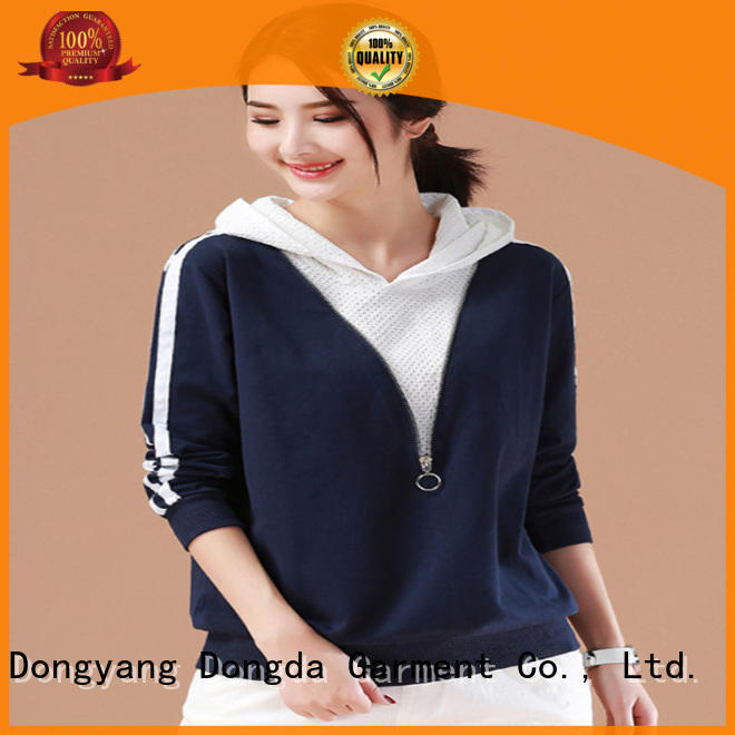 Best ladies sweatshirts hooded manufacturers for international market