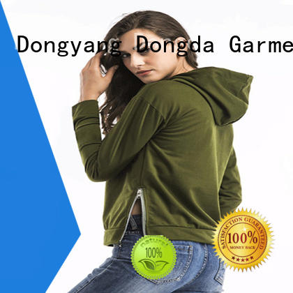 Dongda hooded female hoodies for business for international market