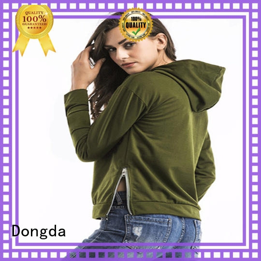 Dongda print female hoodies suppliers for ladies